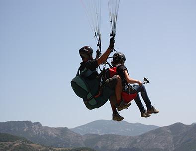 Vuelo Parapente Biplaza - Deportes de Aventura Sort